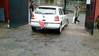 Czujnik parkowania - Balon