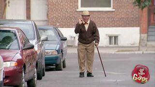 Dziadek driftuje!