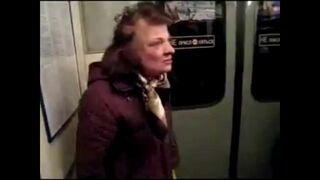 Kompilacja, pijani ludzie w metrze