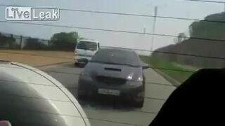 Kolejna bójka w Rosji na drodze