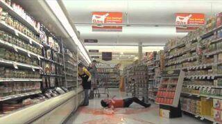Dziwny psikus w markecie