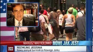 Mariusz Max Kolonko - Nowojorski recycling