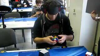 Kostka Rubika z zawiązanymi oczami, rekord świata 28.80s