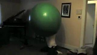 Facet w balonie