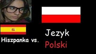 Hiszpanka próbuje mówić po polsku!