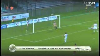 Ligue 2 - Funny own goal