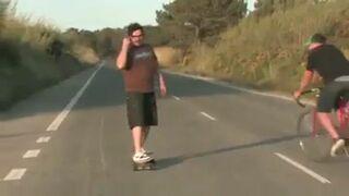 Jak zatrzymać się na longboardzie?