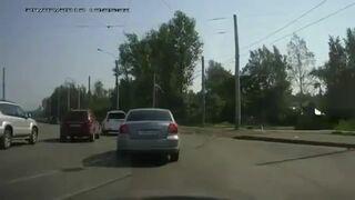 Rosja, konflikt na drodze