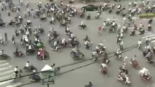 Godziny szczytu w Wietnamie