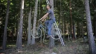 Winda do domku na drzewie