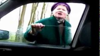 Moher vs Kierowca - KŁÓTNIA UWAGA MOCNE - ty alfabeto!