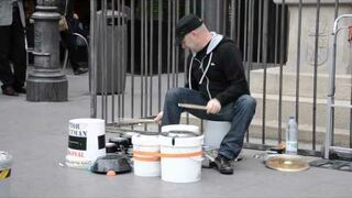 Drum na miskach i garnkach -Madryt