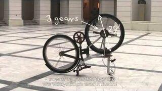 IzzyBike - Polski projekt roweru bez łańcucha