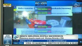 Debata Macierewicza - Władimir Putin dzwoni na skype