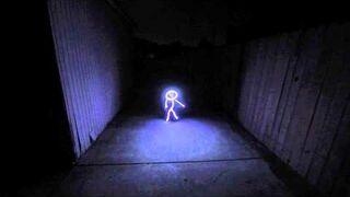 Kostium LED dziecka na halloween