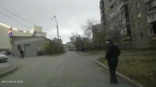 Pierwszeństwo w Rosji ma zawsze pieszy