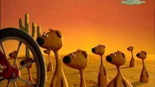 Animals Save the Planet - Meerkats and traffic