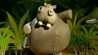 Animals Save the Planet - Hippo shower