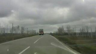 Ciężarówka, która może cię zabić!