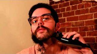 """Sposób na szybkie uzyskanie brody i wąsów to """"antygolenie"""" :) - funny"""
