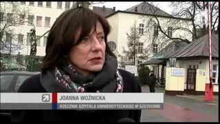 Wypadek w Kamieniu Pomorskim (01.01.2014)