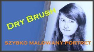 Dry Brush szybko malowany portret by NnL