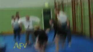Kilka gimnastycznych wypadków