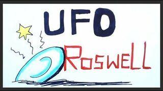 "UFO "" ROSWELL "" by Nauka na luza"