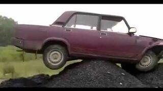 Innowacyjny sposób układania asfaltu - fail