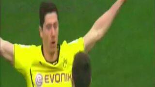 Genialny gol Lewandowskiego!