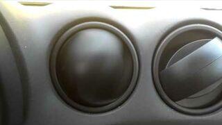 Szalony wylot powietrza w aucie