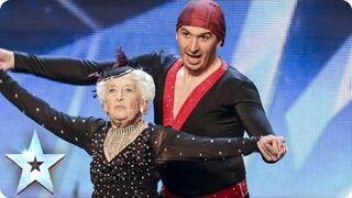 Niesamowity występ staruszki i młodzieńca w brytyjskim Mam Talent
