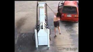 Wpadka podczas kradzieży paliwa - ROSJA
