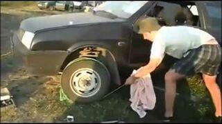 Jak odpalić samochód z rozładowanym akumulatorem