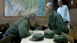 Walka na łyżeczki w Rosyjskim wojsku