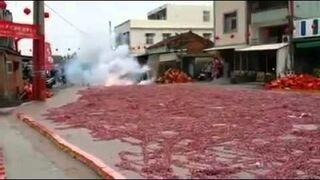 Odpalanie miliona petard