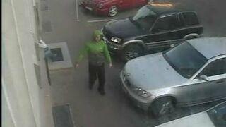 Poszukiwany bandzior - piątek rano - 23 maja godz. 05:55 Gdańsk ul. Partyzantów 34