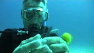 Co siędzieje po rozbiciu jajka pod wodą?