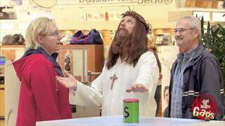 Ukryta kamera: Jezus mnoży pieniądze