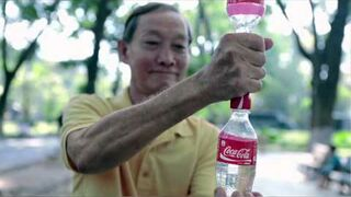 Drugie życie butelek Coca-Coli