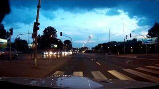 Szaleńczy rajd na ulicach Warszawy - BMW M3
