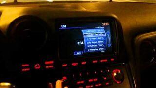 """Pozdrowienia od """"Bogusia"""" w Nissanie GTR"""