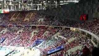 Harlem Shake przed meczem Polska - Brazylia