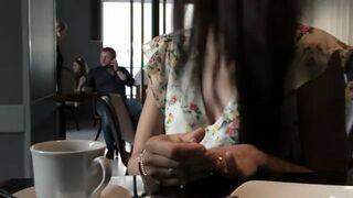 Tak się w Rosji ucisza hałaśliwych gości w kawiarni