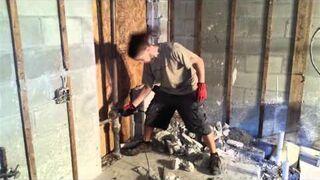 Metalowiec na budowie