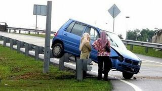 A selection of terrible road accidents in 2014