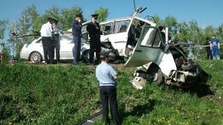 Video compilation of road accidents in July 2014