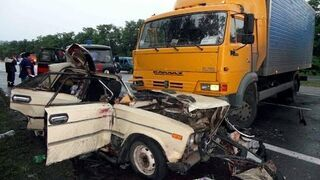 Hot cars crash in July