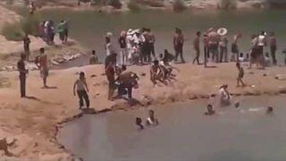 Jezioro na środku tunezyjskiej pustyni