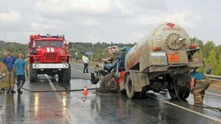 Selection of road accidents